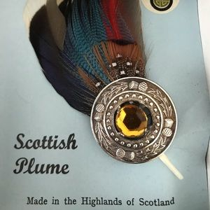 Scottish Plume Pin /Vintage